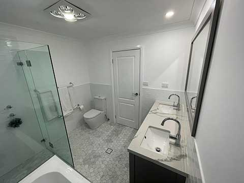 Bathroom Renovations Kirrawee